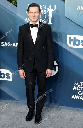 Stock Image of Billy Crudup arrives for the 26th annual Screen Actors Guild Awards ceremony at the Shrine Auditorium in Los Angeles, California, USA, 19 January 2020.
