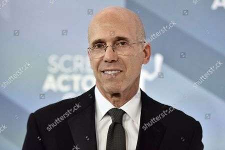 Jeffrey Katzenberg arrives at the 26th annual Screen Actors Guild Awards at the Shrine Auditorium & Expo Hall, in Los Angeles