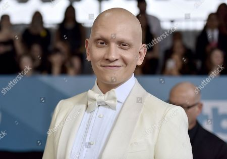Anthony Carrigan arrives at the 26th annual Screen Actors Guild Awards at the Shrine Auditorium & Expo Hall, in Los Angeles