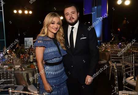 John Bradley, Rebecca April May. John Bradley, right, and Rebecca April May attend the 26th annual Screen Actors Guild Awards at the Shrine Auditorium & Expo Hall, in Los Angeles