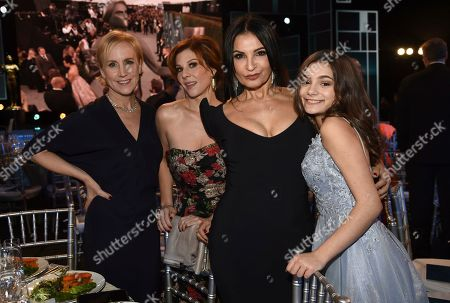 Welker White, Stephanie Kurtzuba, Kathrine Narducci, Lucy Gallina. Welker White, from left, Stephanie Kurtzuba, Kathrine Narducci and Lucy Gallina attend the 26th annual Screen Actors Guild Awards at the Shrine Auditorium & Expo Hall, in Los Angeles