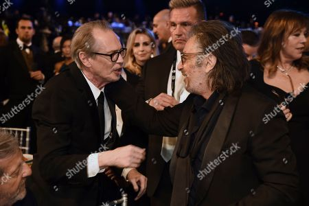 Steve Buscemi, Al Pacino. Steve Buscemi, left, and Al Pacino attend the 26th annual Screen Actors Guild Awards at the Shrine Auditorium & Expo Hall, in Los Angeles