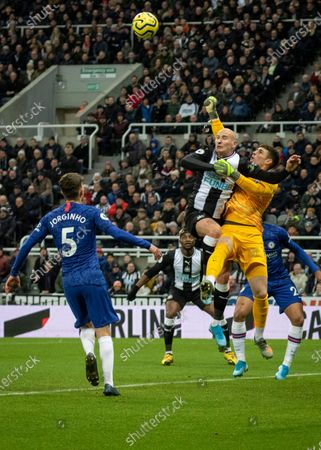 Editorial picture of Newcastle v Chelsea, Barclays Premier League, Football, St. James' Park, Newcastle, UK - 18 Jan 2020