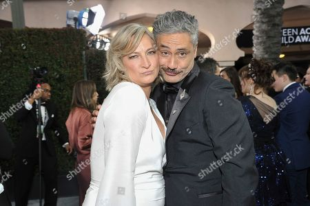 Zoe Bell, Taika Waititi. Zoe Bell, left, and Taika Waititi arrive at the 26th annual Screen Actors Guild Awards at the Shrine Auditorium & Expo Hall, in Los Angeles