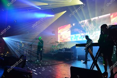 Editorial image of New Order in concert at The Fillmore, Miami Beach, USA - 18 Jan 2020