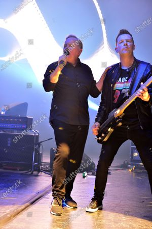 Editorial photo of New Order in concert at The Fillmore, Miami Beach, USA - 18 Jan 2020