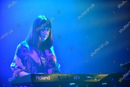 Stock Photo of New Order - Gillian Gilbert