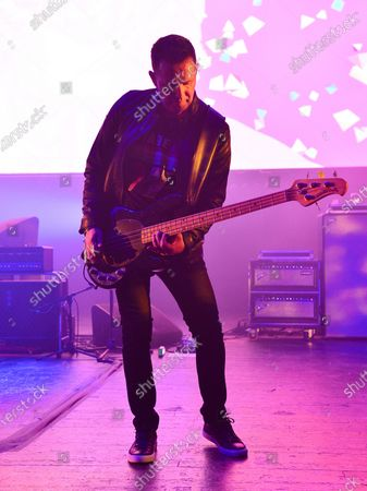 Stock Photo of New Order - Tom Chapman