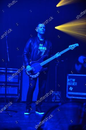 Editorial picture of New Order in concert at The Fillmore, Miami Beach, USA - 18 Jan 2020