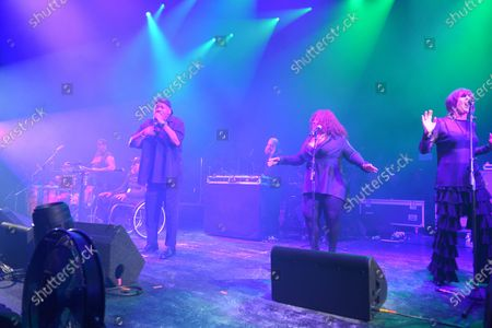 Rockers Revenge - Vocalist Donnie Calvin, Dwight Hawkes, DJ and producer Arthur Baker, backing vocalists Tina B and Adrienne Johnson