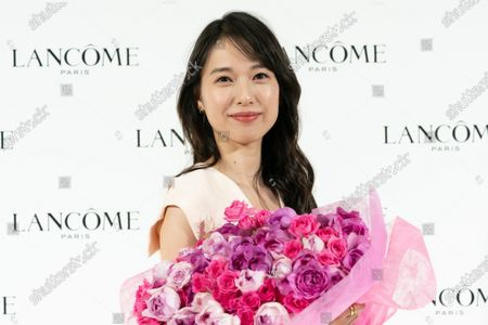 Editorial picture of 'Lancome' press conference, Tokyo, Japan - 15 Jan 2020