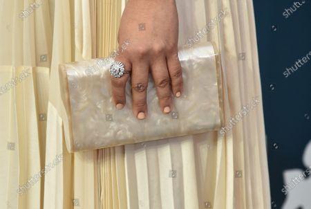 Stephanie Hsu, bag detail