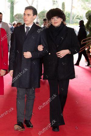 Pauline Ducruet, Princess Stephanie of Monaco, Louis Ducruet and Camille Marie Kelly Gottlieb