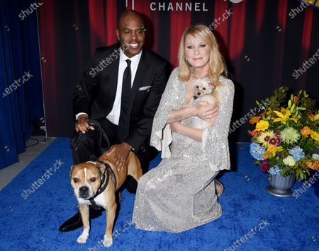 Stock Picture of Kevin Frazier and Sandra Lee