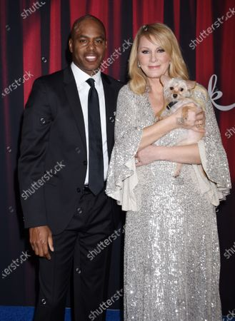 Stock Image of Kevin Frazier and Sandra Lee