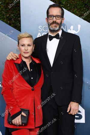 Stock Image of Patricia Arquette and Eric White