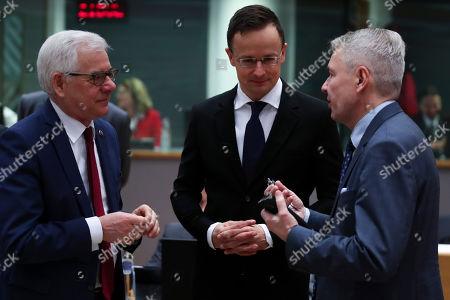 Editorial photo of EU Libya, Brussels, Belgium - 20 Jan 2020