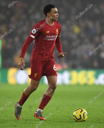 Stock Image of Trent Alexander-Arnold of Liverpool