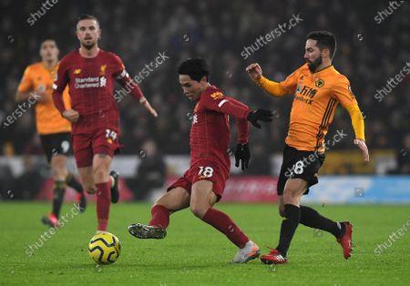 Editorial picture of Wolverhampton Wanderers v Liverpool, Premier League, Football, Molineux Stadium, Wolverhampton, UK - 23 Jan 2020