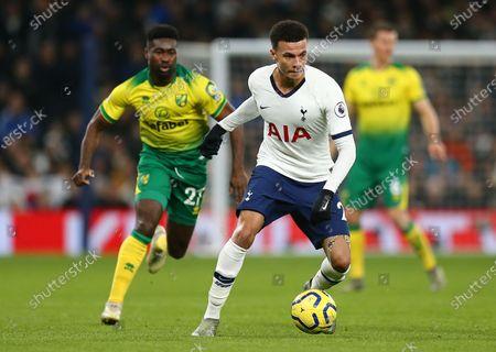 Stock Picture of Dele Alli of Tottenham Hotspur