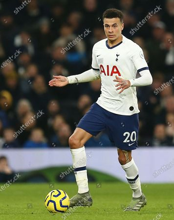 Editorial photo of Tottenham Hotspur v Norwich City, Premier League, Football, The Tottenham Hotspur Stadium, London, UK - 22 Jan 2020