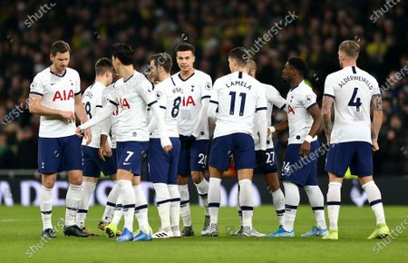 Editorial image of Tottenham Hotspur v Norwich City, Premier League, Football, The Tottenham Hotspur Stadium, London, UK - 22 Jan 2020
