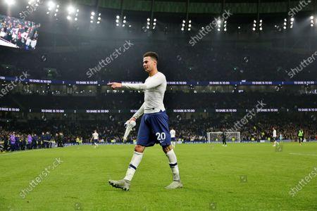 Editorial picture of Tottenham Hotspur v Norwich City, Premier League, Football, The Tottenham Hotspur Stadium, London, UK - 22 Jan 2020