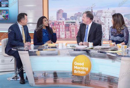 Editorial image of 'Good Morning Britain' TV show, London, UK - 20 Jan 2020