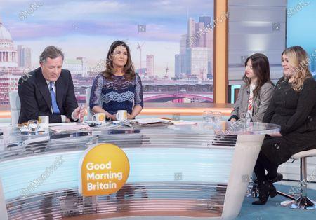 Editorial photo of 'Good Morning Britain' TV show, London, UK - 20 Jan 2020