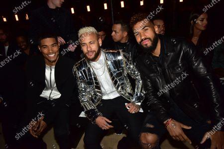 Stock Photo of Rome Flynn, Neymar Jr, Neymar Jr, Eric Maxim Choupo-Moting