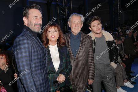 Jon Hamm, Susan Sarandon, Sir Ian McKellen and Niall Horan