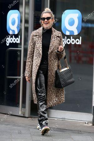Ashley Roberts at Global Studios