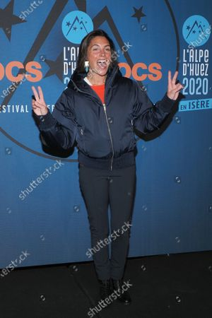 Alessandra Sublet attends the 'Divorce club' screening