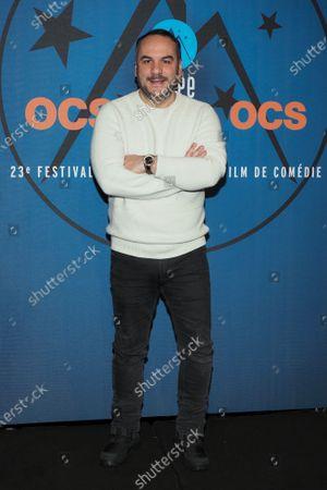Francois-Xavier Demaison attends the 'Divorce club' screening