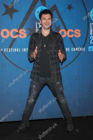 Michael Youn attends the 'Divorce club' screening