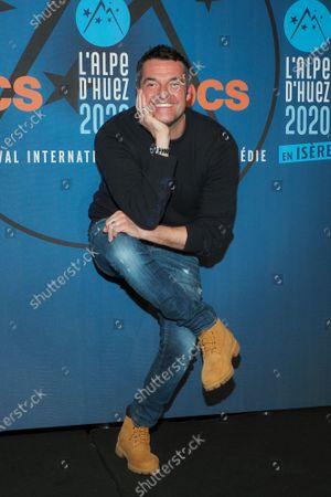 Arnaud Ducret attends the 'Divorce club' screening