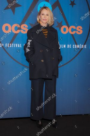 Pascale Arbillot attending 'Miss' photocall before the closing ceremony and screening