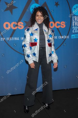 Sabrina Ouazani attending 'Miss' photocall before the closing ceremony and screening