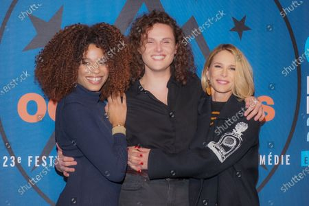 Editorial photo of 23rd International Comedy Film Festival, Day 5, Alpe d'Huez, France - 18 Jan 2020