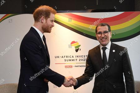 Editorial image of UK-Africa Investment Summit, London, UK - 20 Jan 2020