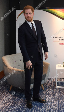 Prince Harry at the Intercontinental Hotel