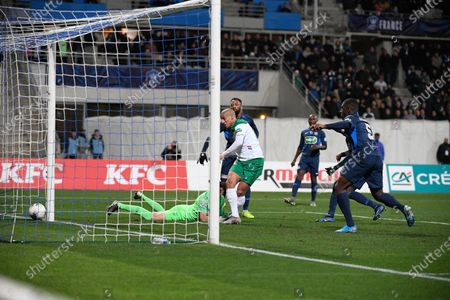 Stock Photo of Wahbi Khazri score a goal