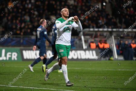 Wahbi Khazri celebrate after a goal