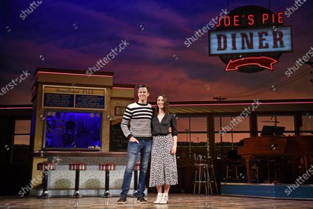US actor and cast-member Gavin Creel and US actress, cast-member and lyric/music writer Sara Bareilles perform at a media preview of the show 'Waitress' at the Adelphi Theatre in London, Britain, 20 January 2020. Bareilles will makes her West End debut from 27 January to 07 March 2020 in the lead role of 'Jenna'.