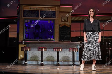 US actress, cast-member and lyric/music writer Sara Bareilles performs at a media preview of the show 'Waitress' at the Adelphi Theatre in London, Britain, 20 January 2020. Bareilles will makes her West End debut from 27 January to 07 March 2020 in the lead role of 'Jenna'.