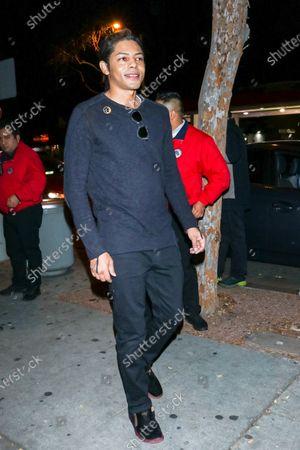 Brandon Howard at Delilah nightclub in West Hollywood