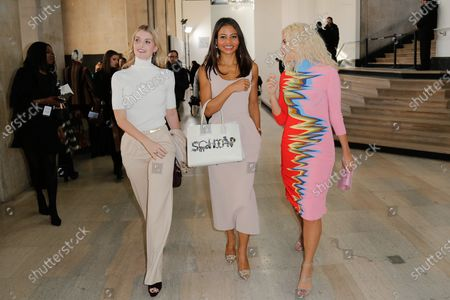 Lady Kitty Spencer, Emma Weymouth, Viscountess of Weymouth and Pixie Lott