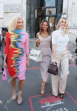 Pixie Lott, Viscountess Emma Weymouth and Lady Kitty Spencer