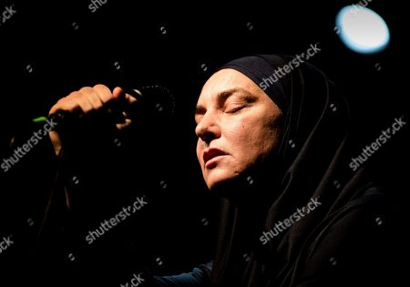 Editorial image of Sinead O'Connor in concert at Hiroshima Mon Amour, Torino, Italy - 19 Jan 2020