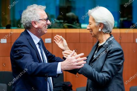Pierre Gramegna, Christine Lagarde